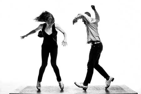 Michelle Dorrance and Byron Tittle of Dorrance Dance