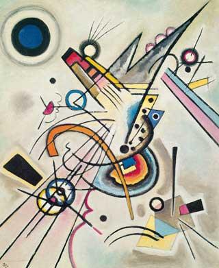 Wassily Kandinsky, 'Diagonal' (1923)