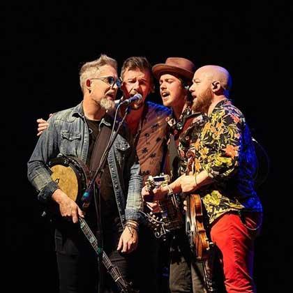 Enda Scahill, Martin Howley, David Howley, Fergal Scahill of 'We Banjo 3'